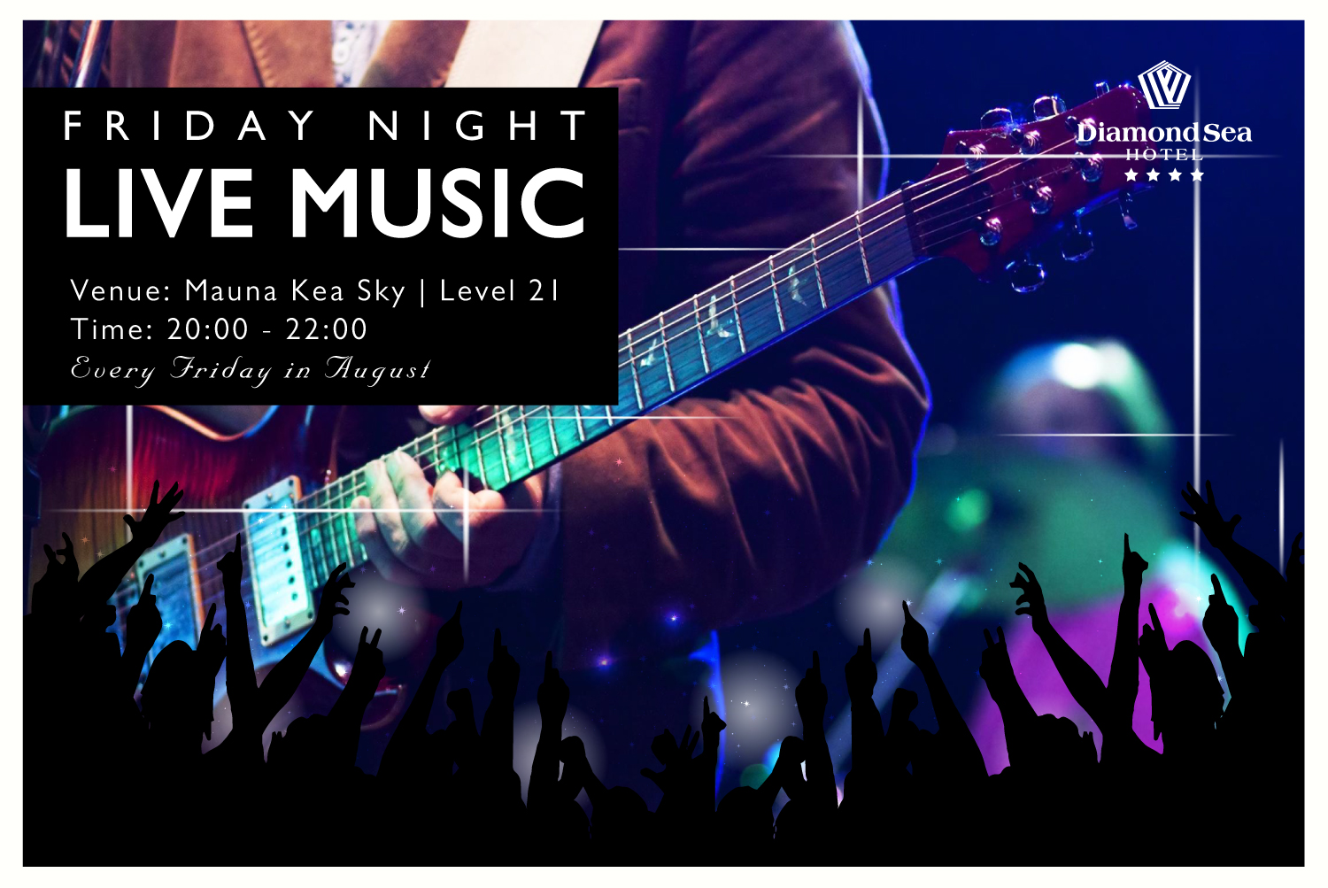 Friday Night Live Music at Mauna Kea Sky