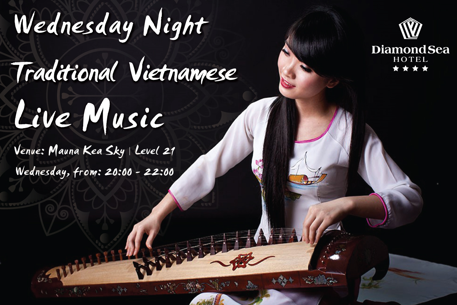 Traditional Vietnamese Live Music every Wednesday at Mauna Kea Sky