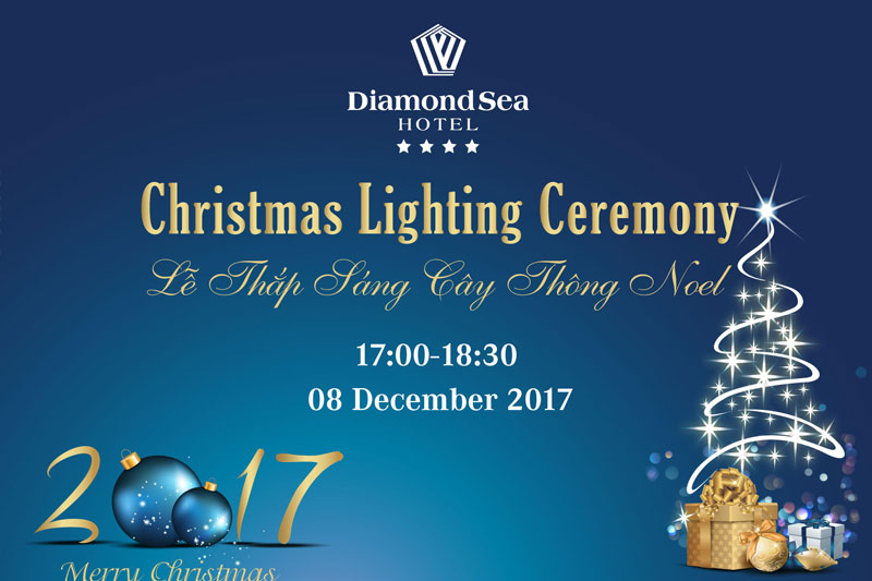 Christmas Lighting Ceremony 2017 at Diamond Sea Hotel