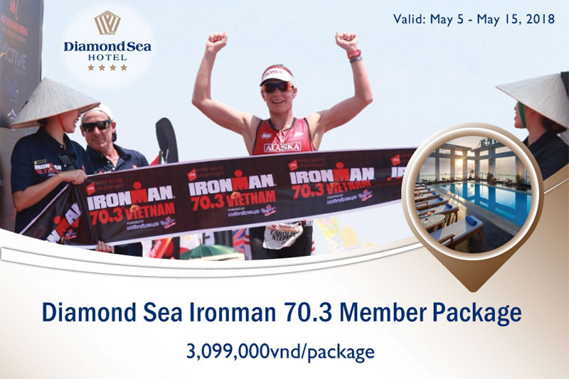 Diamond Sea Ironman 70.3 Member Package