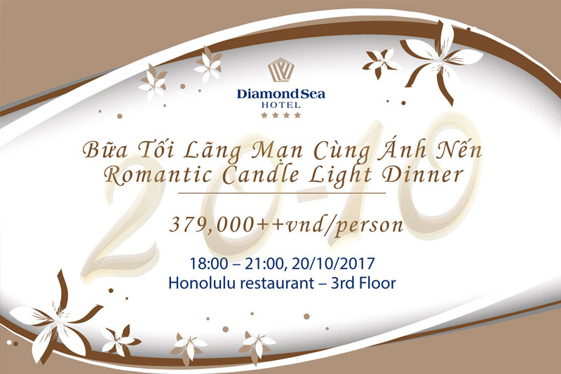 Enjoy the moment of love at Diamond Sea Hotel