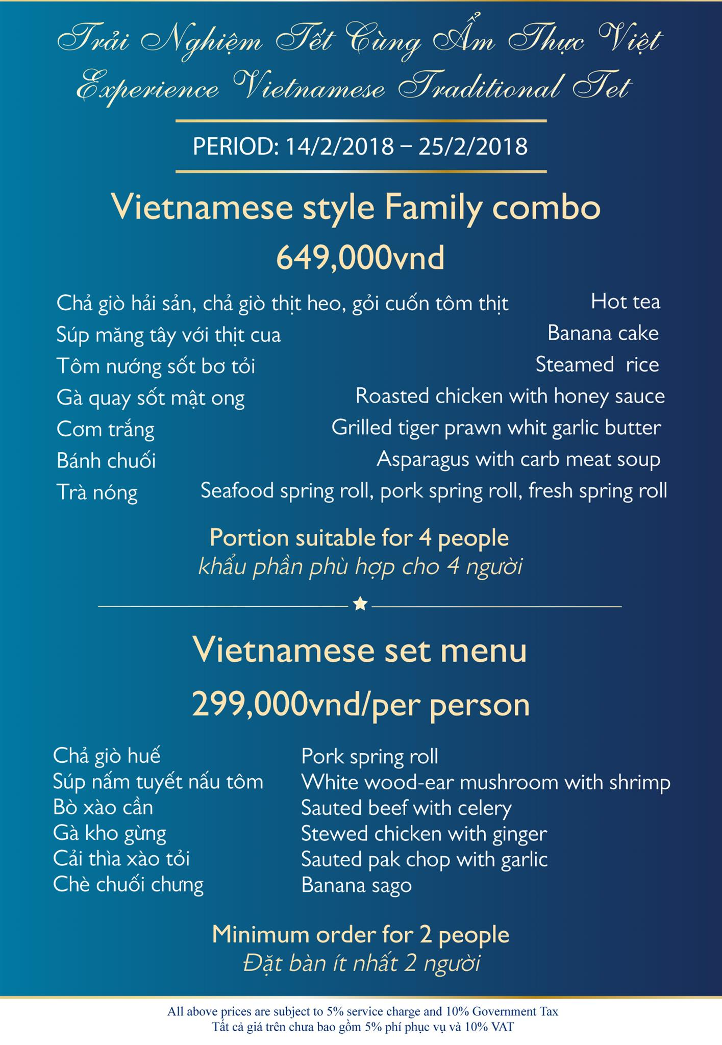 Experience Vietnamese Traditional Tet at Diamond
