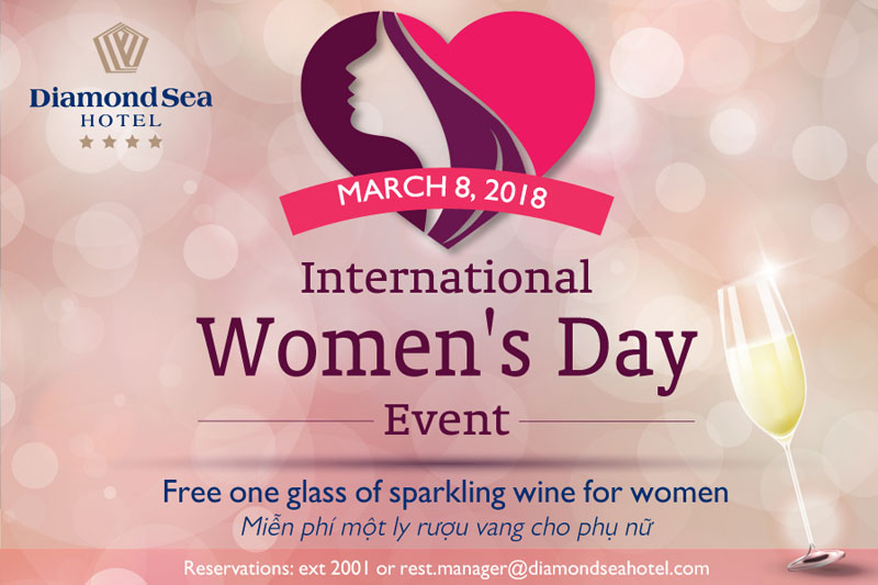 Memorable International Women Day's Event at Diamond Sea Hotel