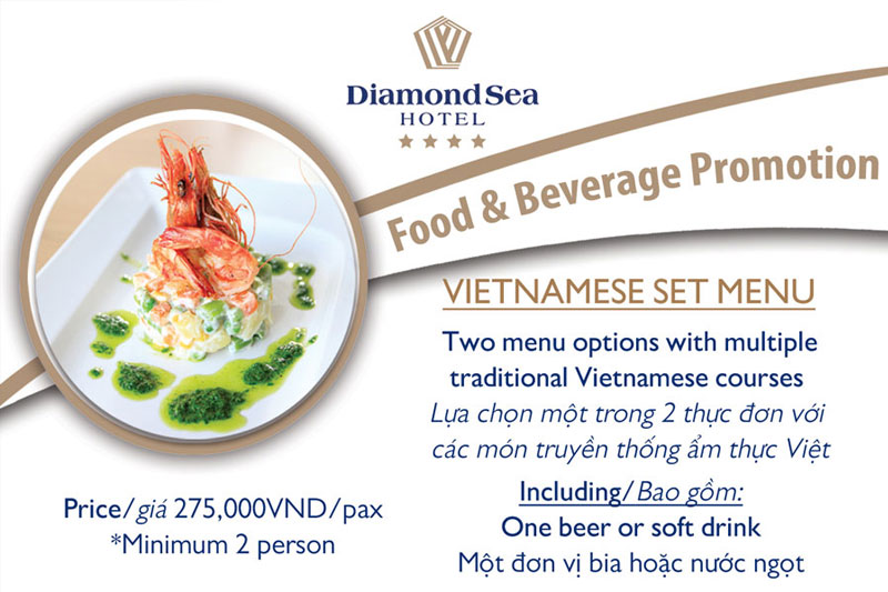F&B Promotion: Vietnamese Set Menu