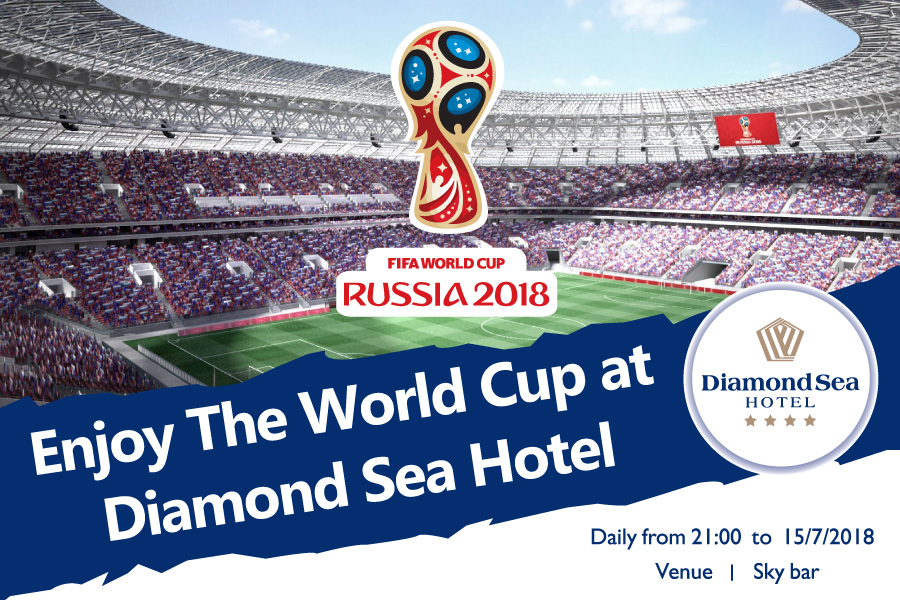 Enjoy the World Cup at Diamond Sea Hotel