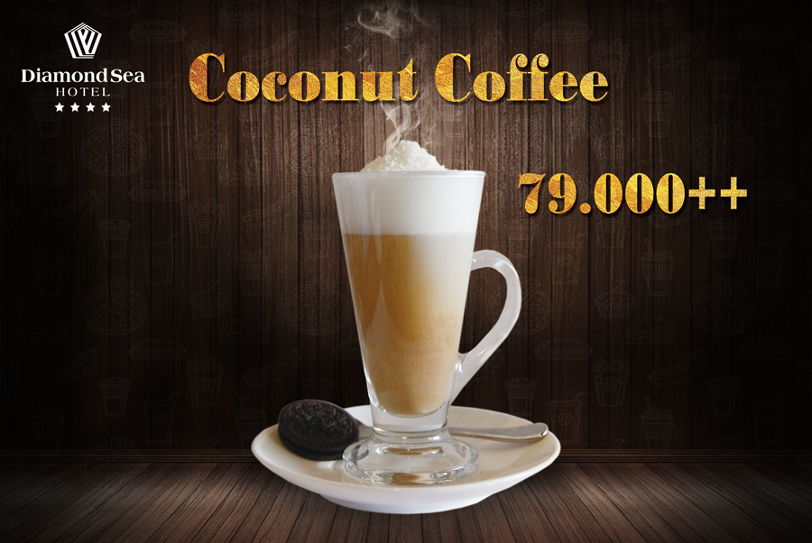 Coconut Coffee, only 79.000 ++