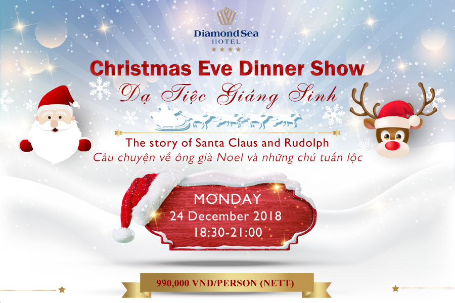 Love Christmas at Diamond Sea Hotel Da Nang