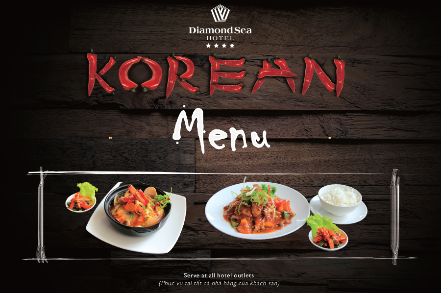 Korean Menu Special Promotion at Diamond Sea Hotel
